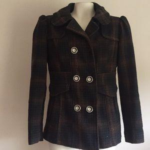 jacket Coat Bowen plaid print